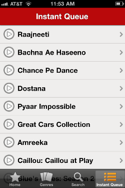 Bollywood Movies on your IPhone with Netflix