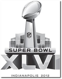 SuperBowl XLVI 2012 Logo Design
