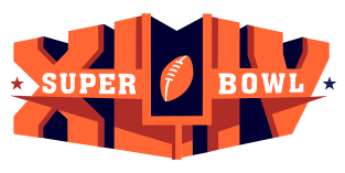 SuperBowl XLIV 2010 Logo Design