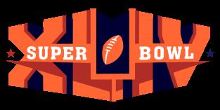 SuperBowl XLIV 2010 Logo Design