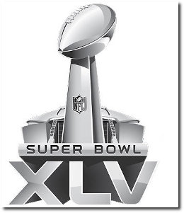 SuperBowl XLV 2011 Logo Design