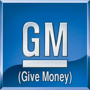 General Motors Logo Parody