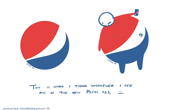 Pepsi Logo Parody